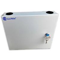 12port Wall Mount Fiber Optic Distribution Box-thumb